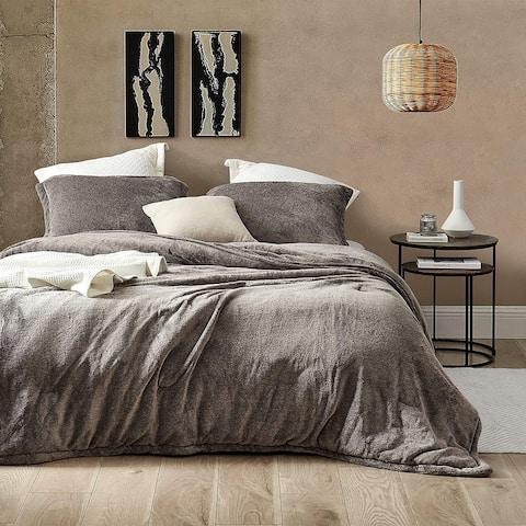 Coma Inducer® Oversized Comforter - UB-Jealy - Mocha Black