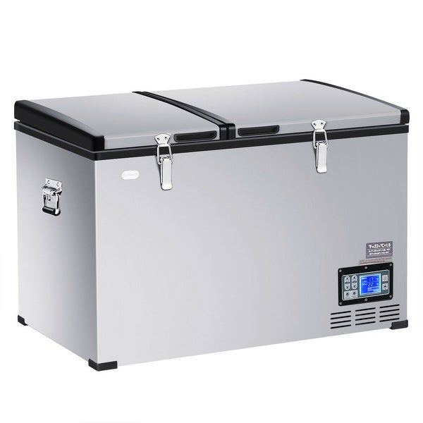 Shop 105-Quart Portable Electric Car Cooler Refrigerator