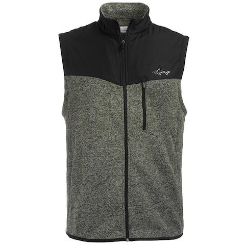 Greg Norman Mens Fleece Outerwear Vest
