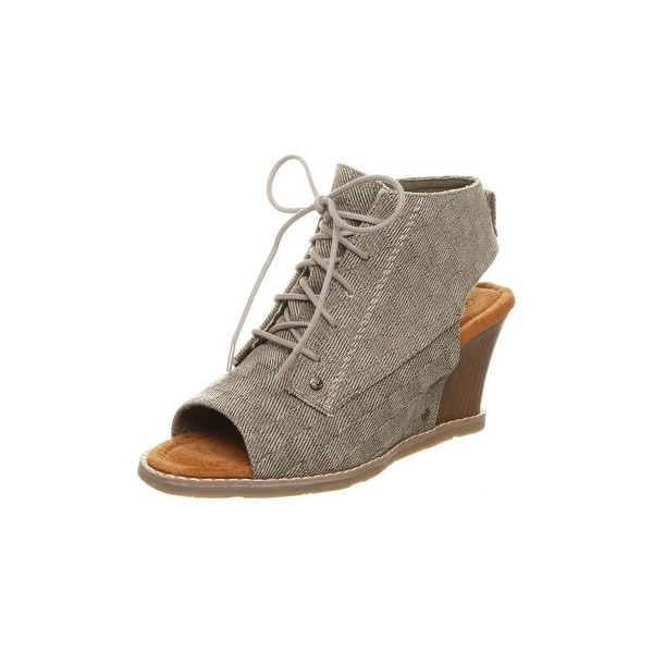 Bearpaw Casual Shoes Womens Aracelli Wedge Shootie Sandal