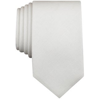 BAR III NEW White Men's One Size Carnaby Firth Solid Skinny Neck Tie
