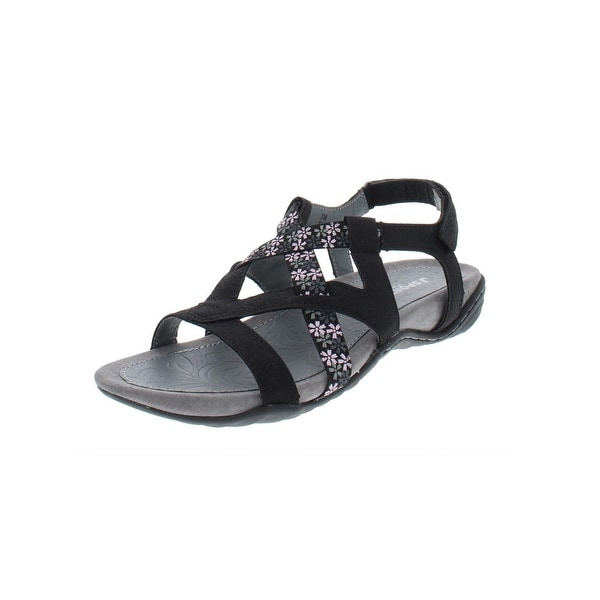039ef324d7f Shop JSport by Jambu Womens Woodland Flat Sandals Floral Sport - Free  Shipping On Orders Over  45 - Overstock - 27638538