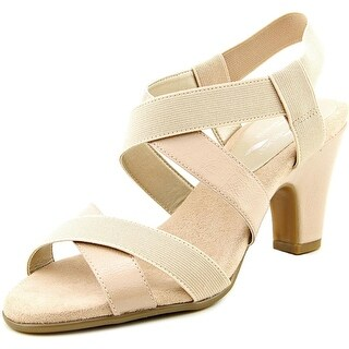 A2 By Aerosoles Kaleidescope Women W Open Toe Synthetic Nude Sandals