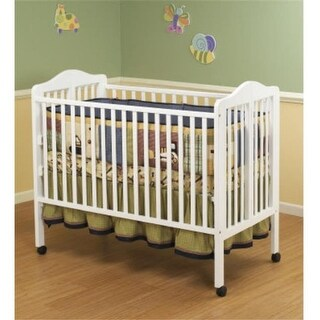 Orbelle Trading 370W Jenny - White Crib