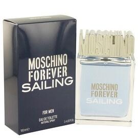 Moschino Forever Sailing by Moschino Eau De Toilette Spray 3.4 oz - Men