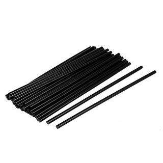 Unique Bargains 35 Pcs Environmental Glue Gun Sticks Hot Melt Translucency Black 7*270mm
