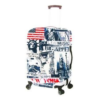 Primeware New York Pattern Luggage Cover - Multi
