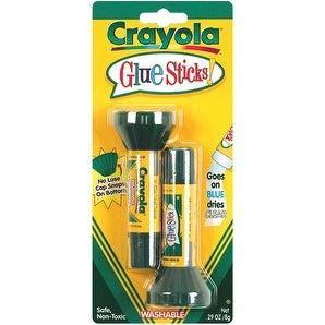 Crayola Washable Glue Sticks 2/Pkg-.2oz