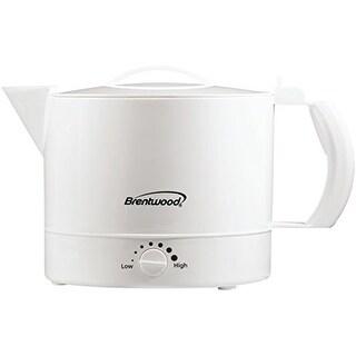 BRENTWOOD BTWKT32WW Brentwood Kt-32w 32-ounce Plastic Hot Pot