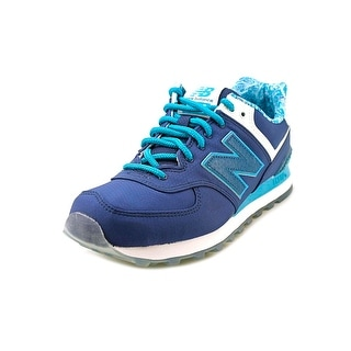New Balance ML574 Men  Round Toe Synthetic Blue Sneakers