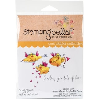 "Stamping Bella Cling Stamp 6.5""X4.5""-Cupid Chicks"