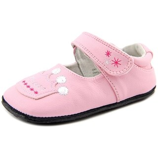 Jack and Lily Olivia Toddler Round Toe Synthetic Pink Mary Janes