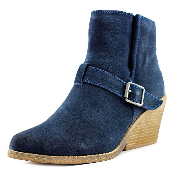 Very Volatile Almeria Women Round Toe Suede Ankle Boot