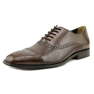 Florsheim Otavio Men 3E Wingtip Toe Leather Brown Oxford