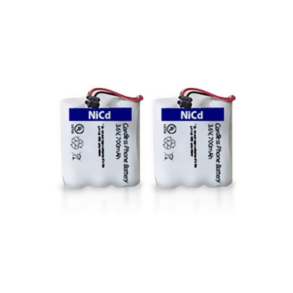 Replacement Battery BT905 for Uniden EHD1200/ DXI386-2/ EXA2950/ EXA3955 Phone Models - 2 Pack