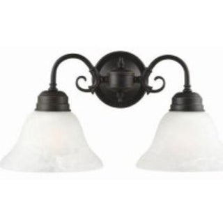Design House 514471 Millbridge 2-Light Wall Mount, Oil Rubbed Bronze