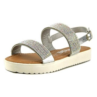 Kensie Girl KG32300 Open Toe Leather Platform Sandal