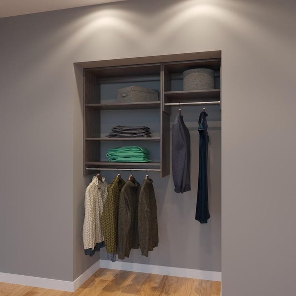 Online Closets: Shop Modular Closets 4.5 FT Closet Organizer System