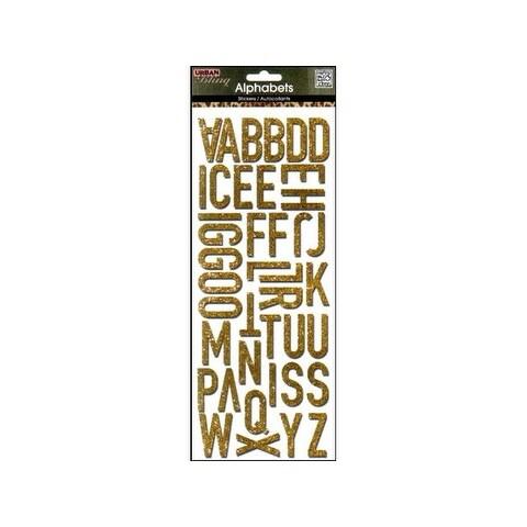 MAMBI Sticker Bling Alphabet Gold