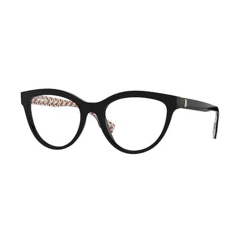 Burberry BE2311F 3824 53 Black Womens Cat Eye Eyeglasses
