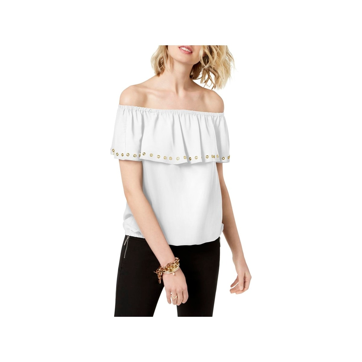 ae832ad25 MICHAEL Michael Kors Tops | Find Great Women's Clothing Deals Shopping at  Overstock