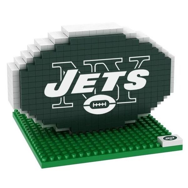 New York Jets 3D NFL BRXLZ Bricks Puzzle Team Logo