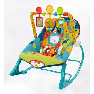 Fisher Price Infant-to-Toddler Rocker Dark Safari Infant-to-toddler Rocker