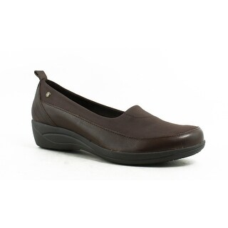 Hush Puppies Womens Valoia Oleena Brown Loafers Size 8 (A, N)