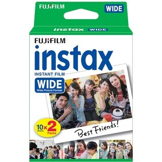 instax Fujifilm WIDE Film Twin Pack for 200, 210 & 300 Cameras (16468498)