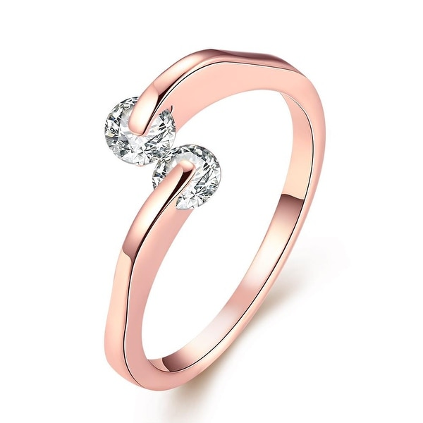 Love Comet Rose Gold Ring