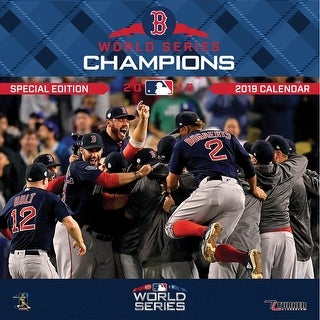 2019 Boston Red Sox World Series Wall Calendar, Boston Red Sox by Turner Licensi