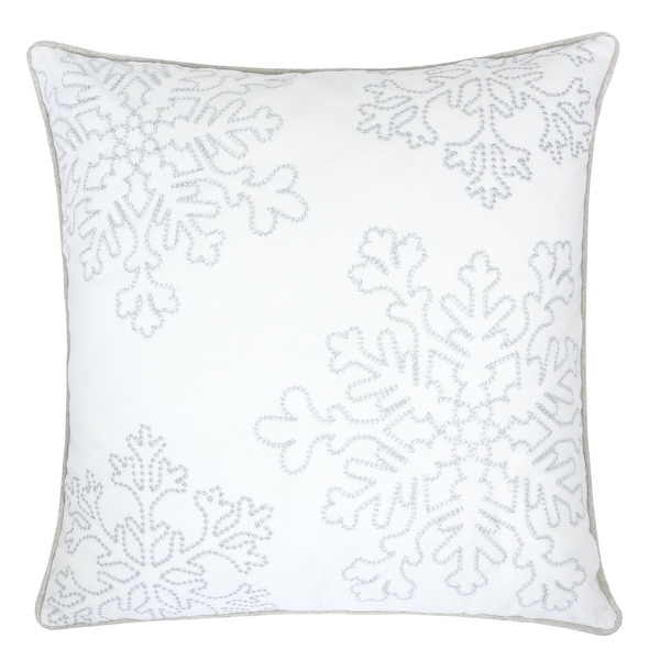 Sophia Christmas Holiday Oversized Pillow with Insert. Opens flyout.