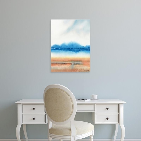 Easy Art Prints Nancy Knight's 'Beachscape' Premium Canvas Art