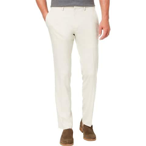 Kenneth Cole Mens Slim Fit Stretch Dress Pants Slacks