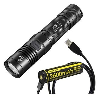 NITECORE EC20 Explorer Series 960 Lumen Compact Flashlight with USB Rechargeable Battery