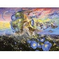 ''Andromeda's Quest'' by Josephine Wall Fantasy Art Print (24 x 36 in.) - Thumbnail 0