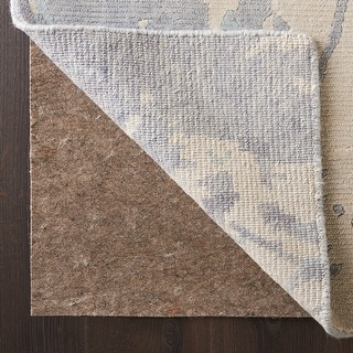 Link to Nourison Reversible Non-slip Dual Surface Rug Pad - Tan Similar Items in Rugs