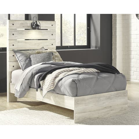 Cambeck Whitewash Panel Bed