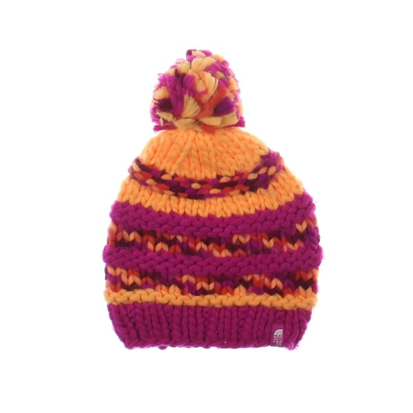 37420853158 Shop The North Face Womens Nanny Knit Beanie Hat Knit Pom pom - o s - Free  Shipping On Orders Over  45 - Overstock - 22390065