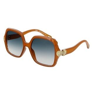 Link to Chloe  CE746S 204 Brick  Square Sunglasses - 55-17-140 Similar Items in Women's Sunglasses