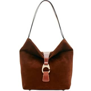 c8f22253ba Dooney   Bourke Derby Suede Large Hobo Shoulder Bag (Introduced by Dooney    Bourke at