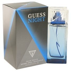 Guess Night by Guess Eau De Toilette Spray 3.4 oz - Men