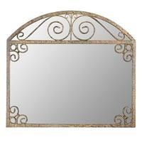 Aspire Home Accents 5179 Melina Arch Frame Wall Mirror - Brown