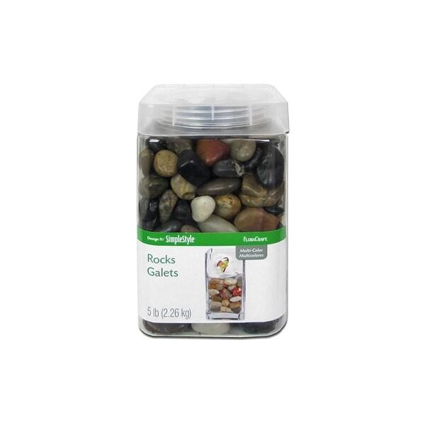 Floracraft Rocks 5lb Multi Pebbles