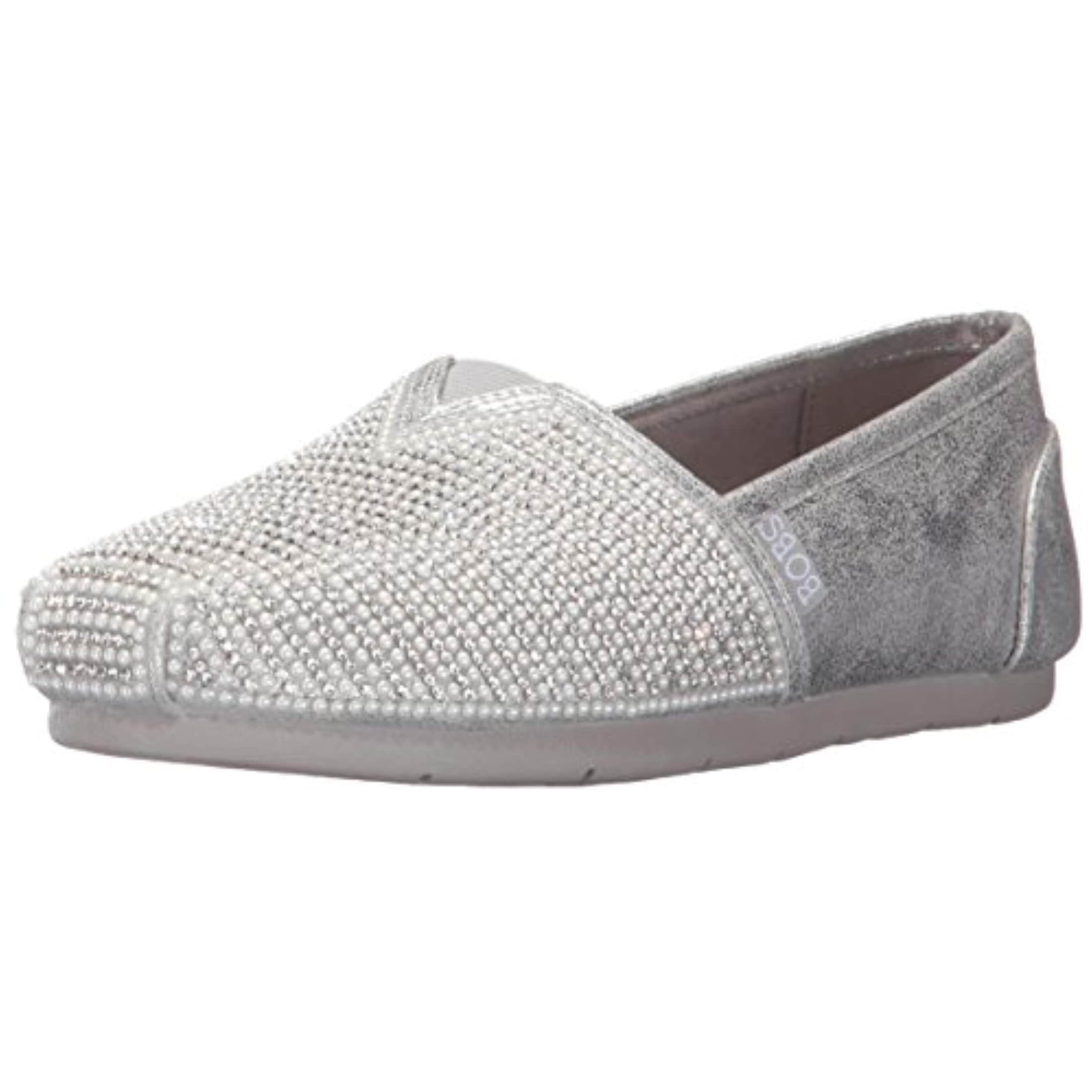 Luxe Bobs-Big Dreamer Flat, Silver