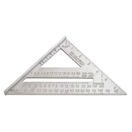 "Johnson RAS-1B Aluminum Rafter Angle Square, 7"""