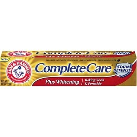 ARM & HAMMER Complete Care Stain Defense Plus Whitening Toothpaste, Fresh Mint 6 oz