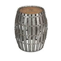 IMAX Home 74299 Gibbs Wood and Metal Barrel