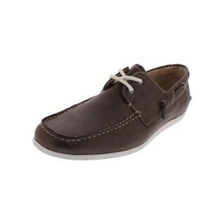 Madden Mens Govern Boat Shoes Slip On Derby
