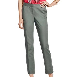 Vince Camuto NEW Sage Green Womens Size 6 Low-Rise Ankle Dress Pants